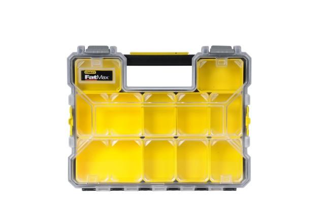 Органайзер Stanley ''fatmax shallow pro plastic latch'' 1-97-519 stanley fatmax deep pro plastic latch 1 97 521