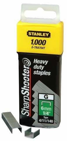 Скобы для степлера Stanley 1-tra709t от 220 Вольт