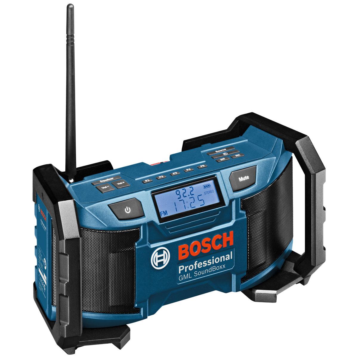 Радио Bosch Gml soundboxx (0.601.429.900) фонарь maglite 2d синий 25 см в картонной коробке 947191