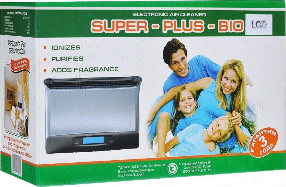 Воздухоочиститель-ионизатор Zenet Супер Плюс Био от 220 Вольт