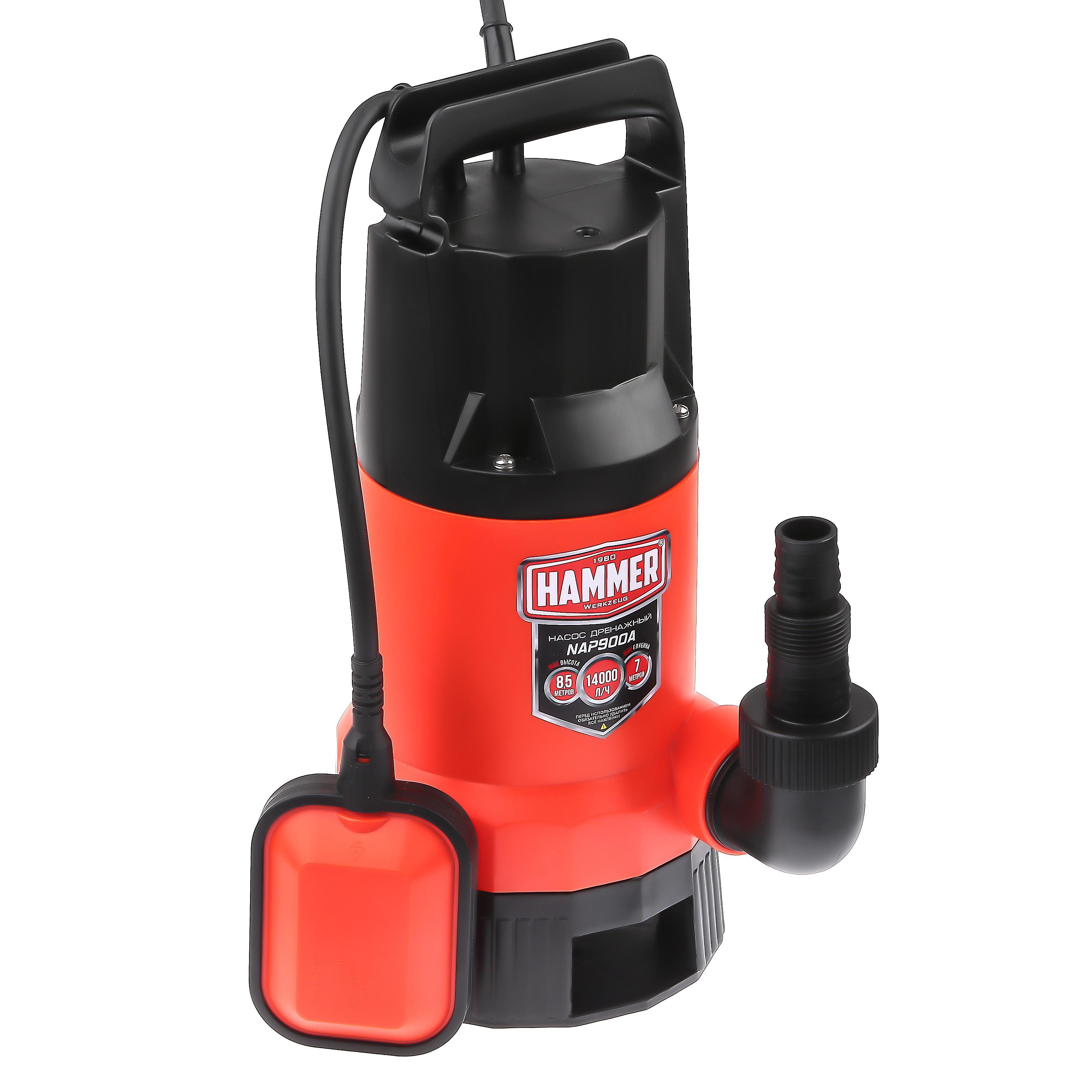 Дренажный насос Hammer Nap900a цена