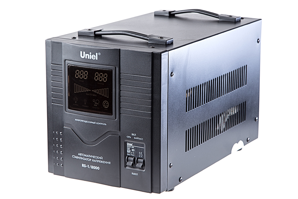 Стабилизатор напряжения Uniel Rs-1/8000