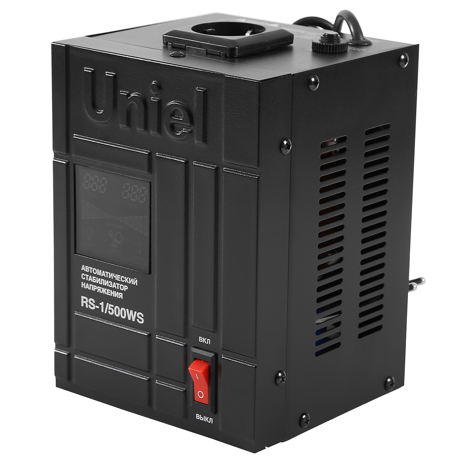 Стабилизатор напряжения Uniel Rs-1/500ws