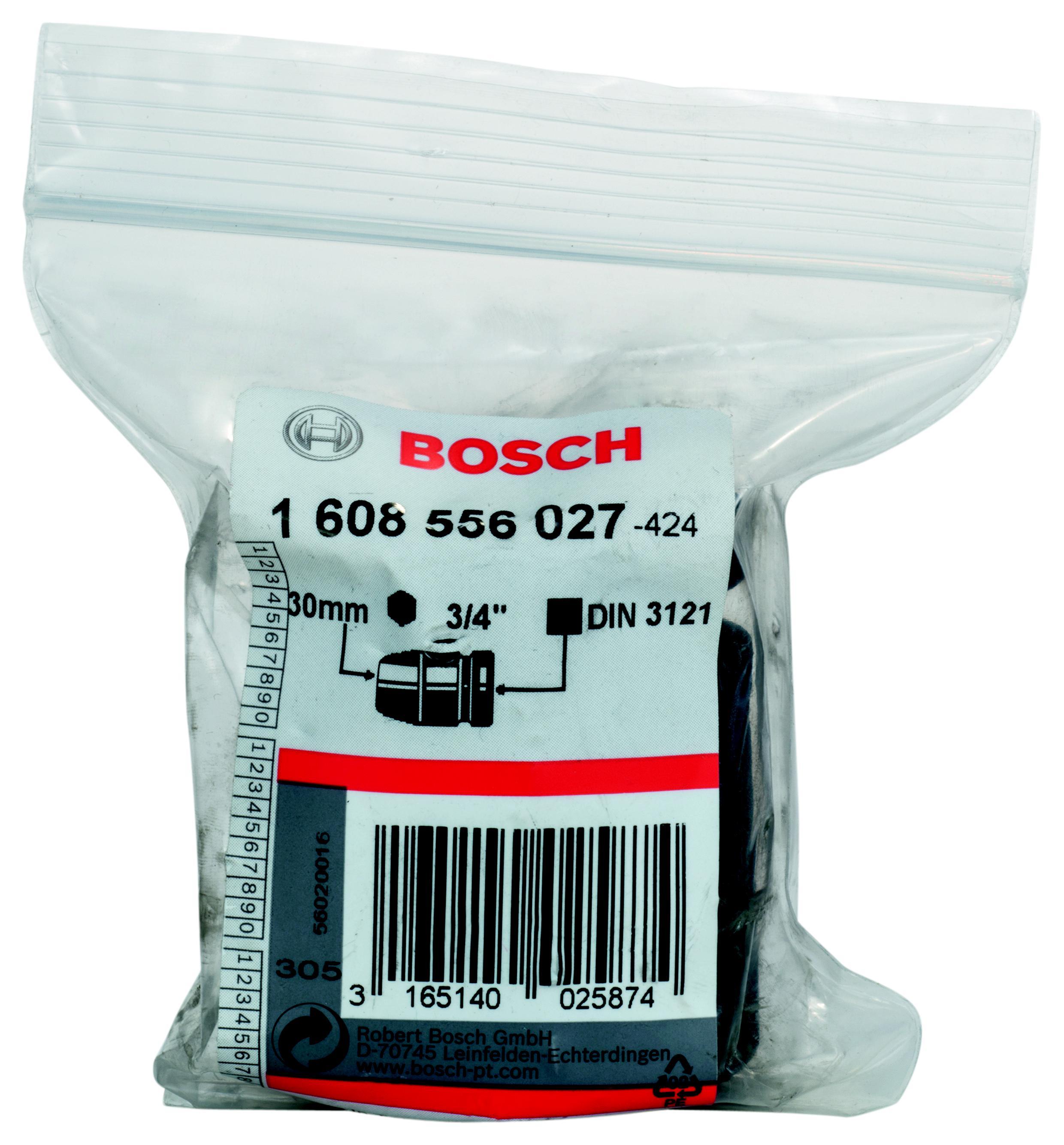 Торцевая головка Bosch 30 мм, 3/4'', 1 шт. (1.608.556.027) от 220 Вольт