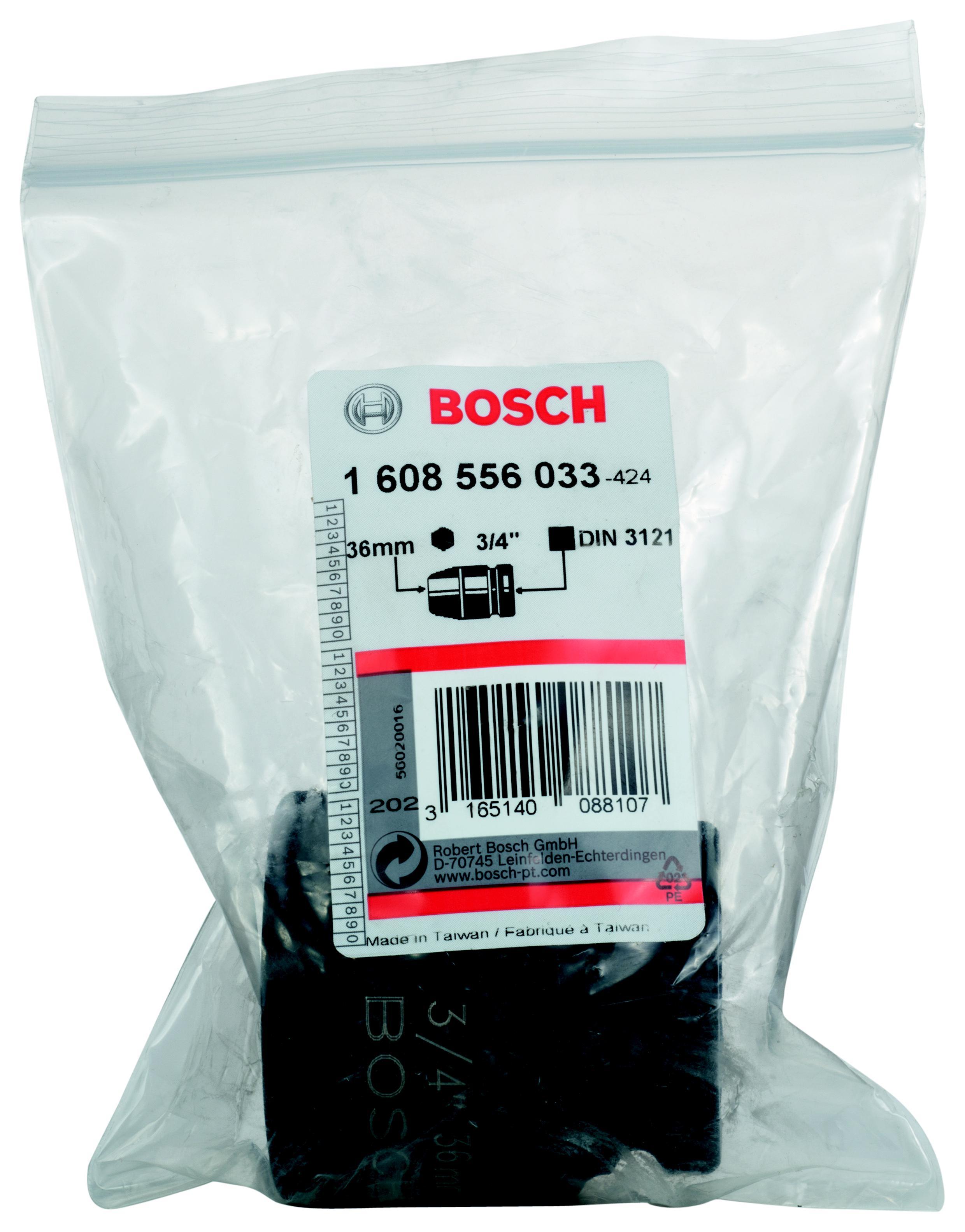 Торцевая головка Bosch 36 мм, 3/4'', 1 шт. (1.608.556.033) от 220 Вольт
