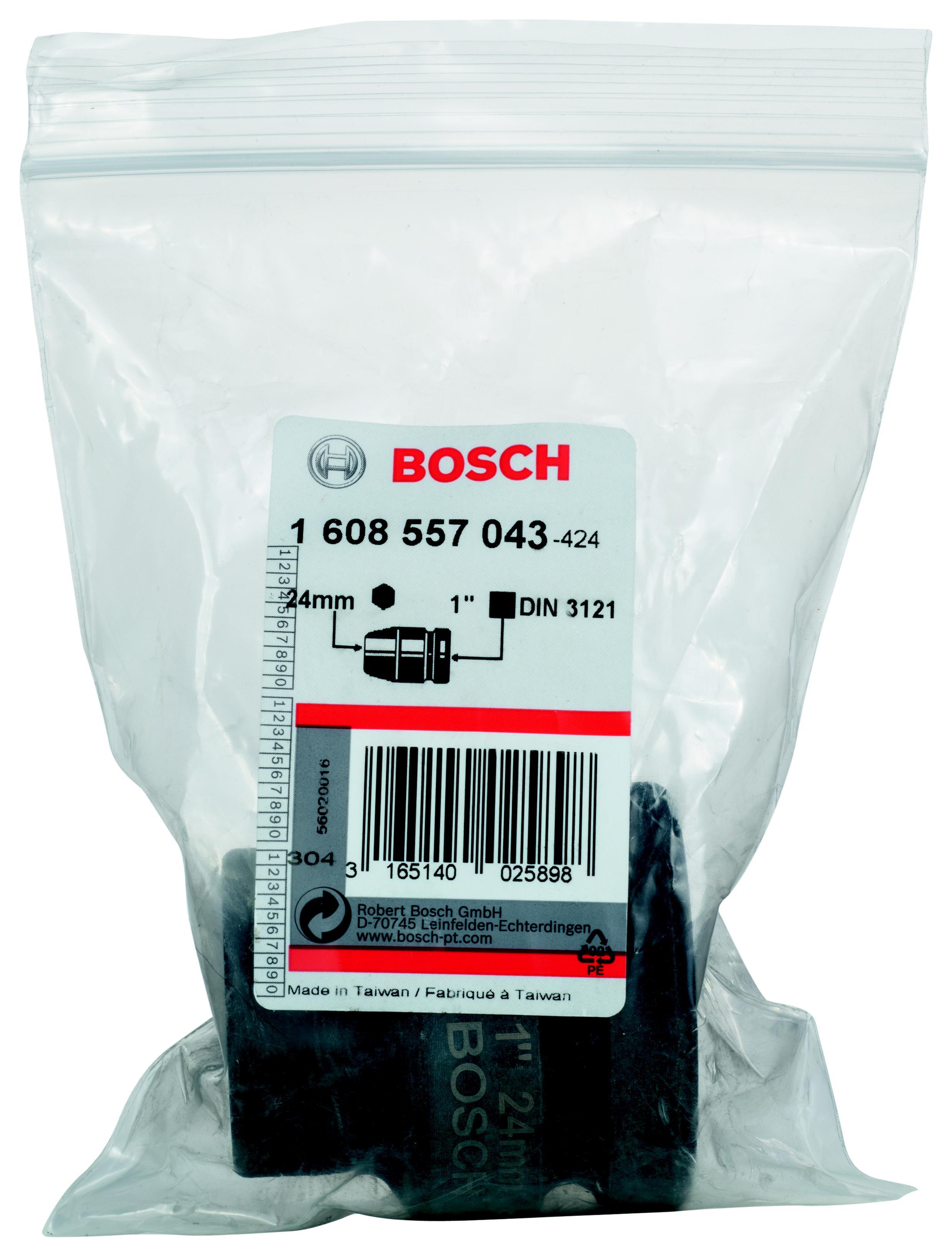 Торцевая головка Bosch 24 мм, 1'', 1 шт. (1.608.557.043) от 220 Вольт