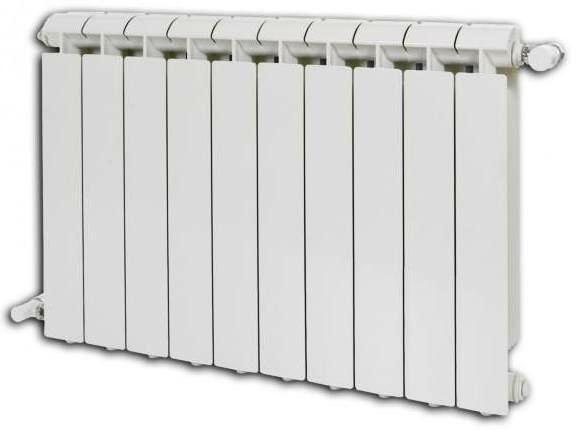 Радиатор алюминиевый Global  6391.000