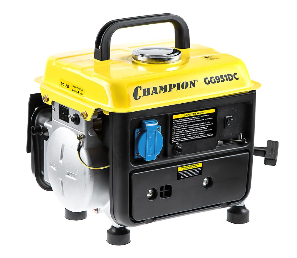 Бензогенератор Champion Gg951dc бензогенератор bigmaster gg 2500
