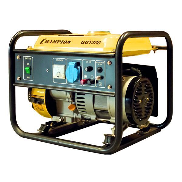 Бензиновый генератор Champion Gg1200 бензиновый генератор кратон gg 5500m