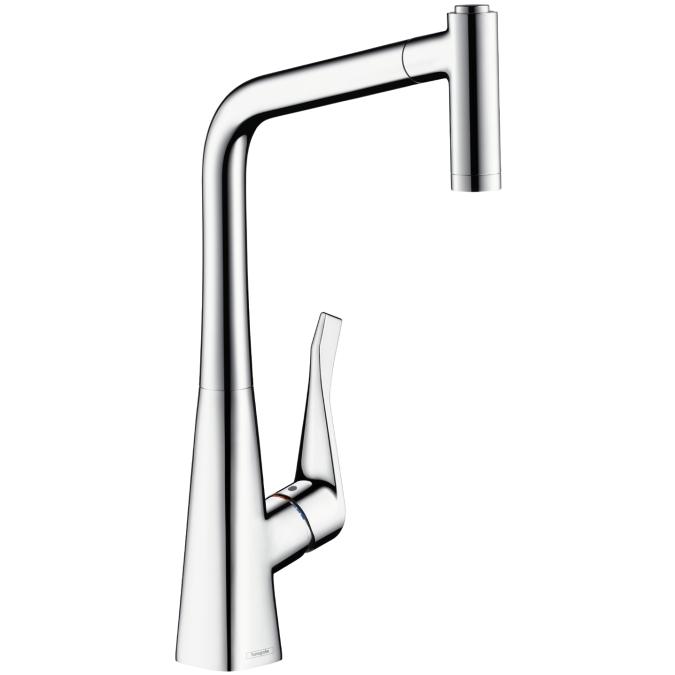 Смеситель для кухни с душем Hansgrohe Metris 14820000