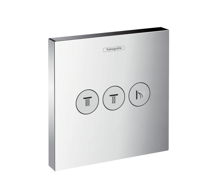 Запорно-переключающее устройство Hansgrohe Showerselect 15764000 термостат для ванны hansgrohe showerselect встроенный с переключателем 15763000