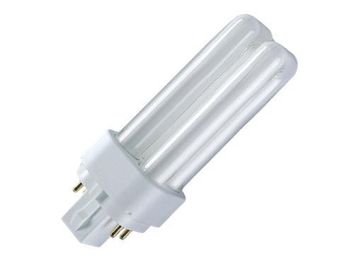 Лампа энергосберегающая OSRAM DULUX D/E 18W/830 G24q-2