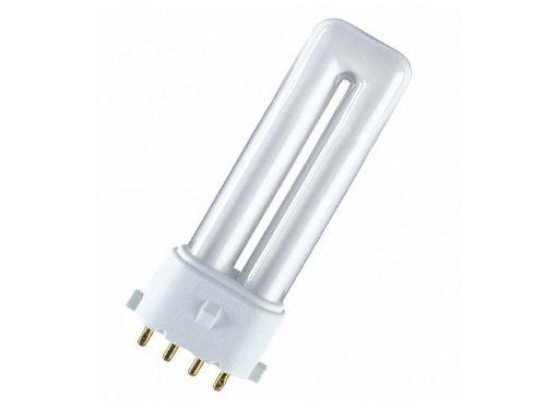 Лампа энергосберегающая OSRAM DULUX S/E 11W/840 2G7