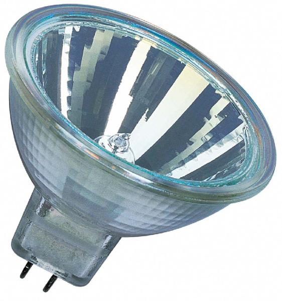 Лампа галогенная Osram Decostar 46860 vwfl 20w gu5.3 лампочка osram g4 12v10w 20w 35w 50w
