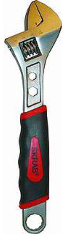 Ключ гаечный разводной Skrab 23561 (0 - 20 мм) ключ разводной truper pet