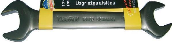 Купить со скидкой Ключ гаечный рожковый 17х19 Skrab 44337 (17 / 19 мм)