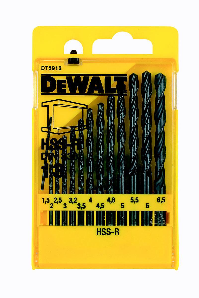 Набор сверл Dewalt Dt5912qz набор сверл по дереву dewalt 10 предметов