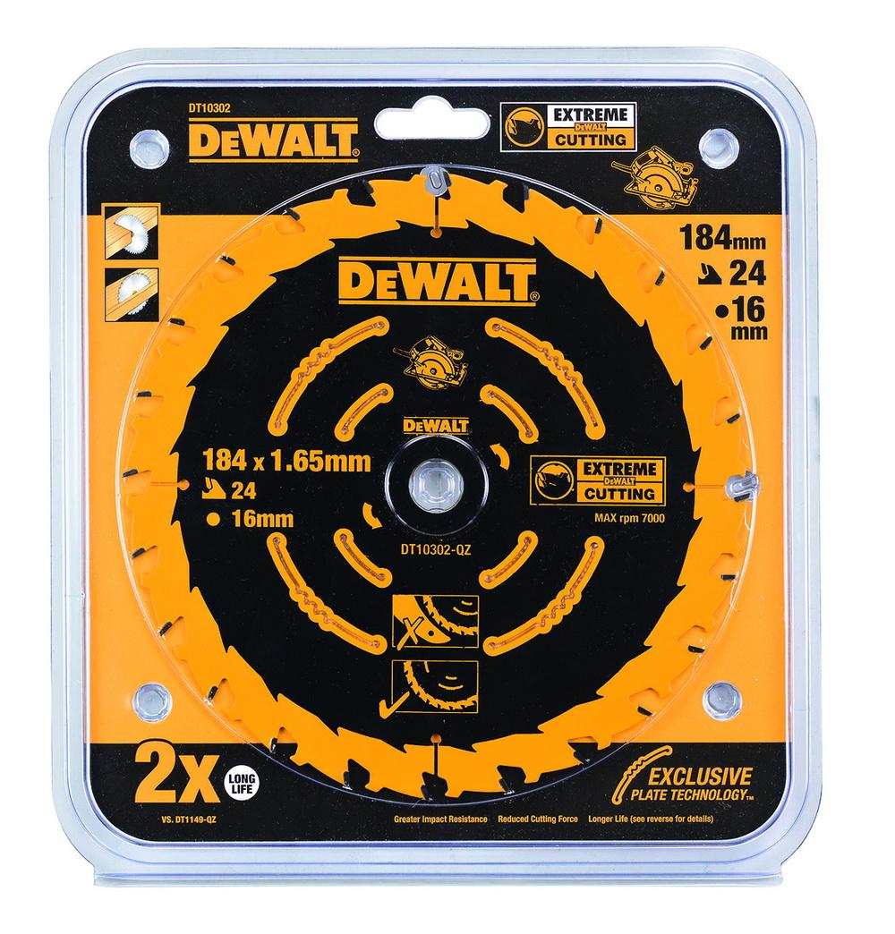 Диск пильный твердосплавный Dewalt Dt10302qz диск пильный по дереву 184х16 мм z40 dewalt dt 10303