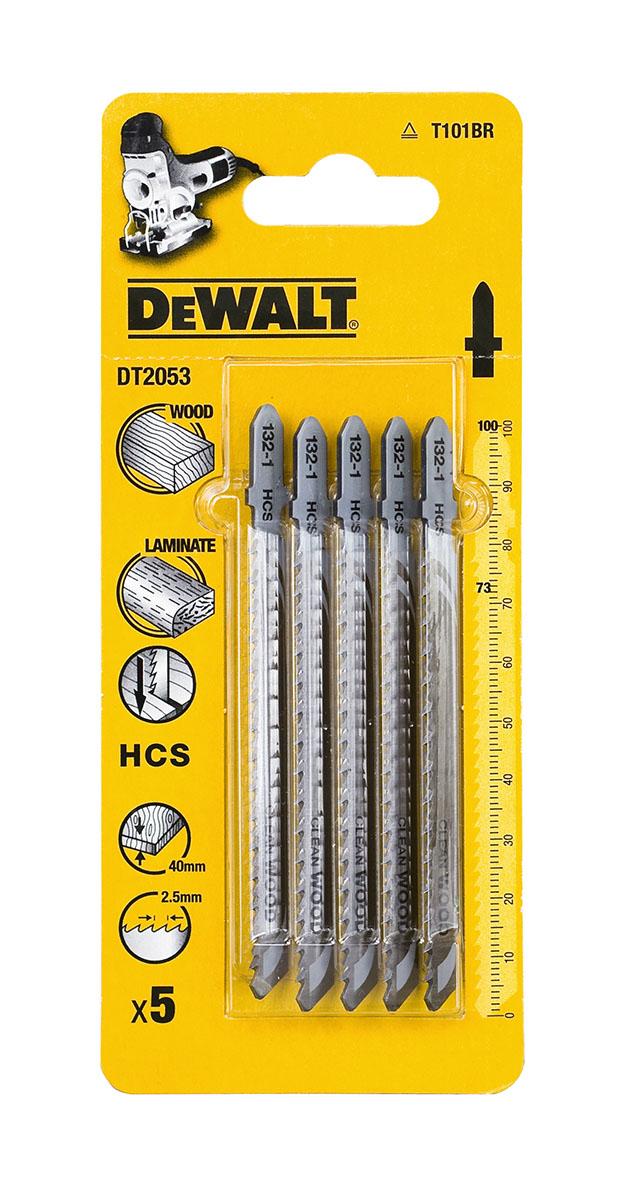 Пилки для лобзика Dewalt Dt2053qz пилки для лобзика по металлу для прямых пропилов bosch t118a 1 3 мм 5 шт