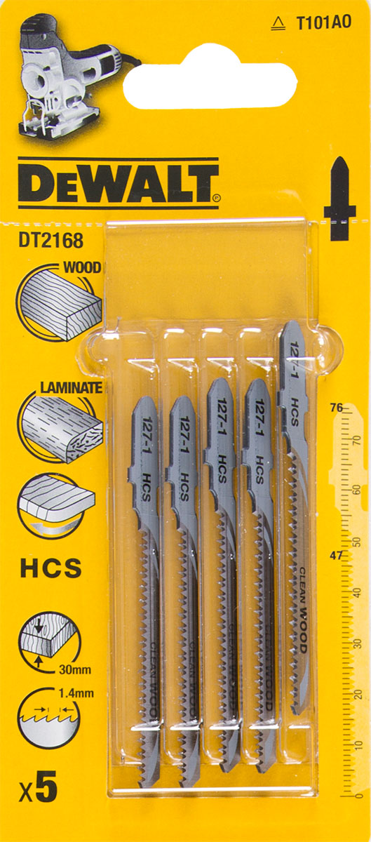 Пилки для лобзика Dewalt Dt2168qz пилки для лобзика по металлу для прямых пропилов bosch t118a 1 3 мм 5 шт