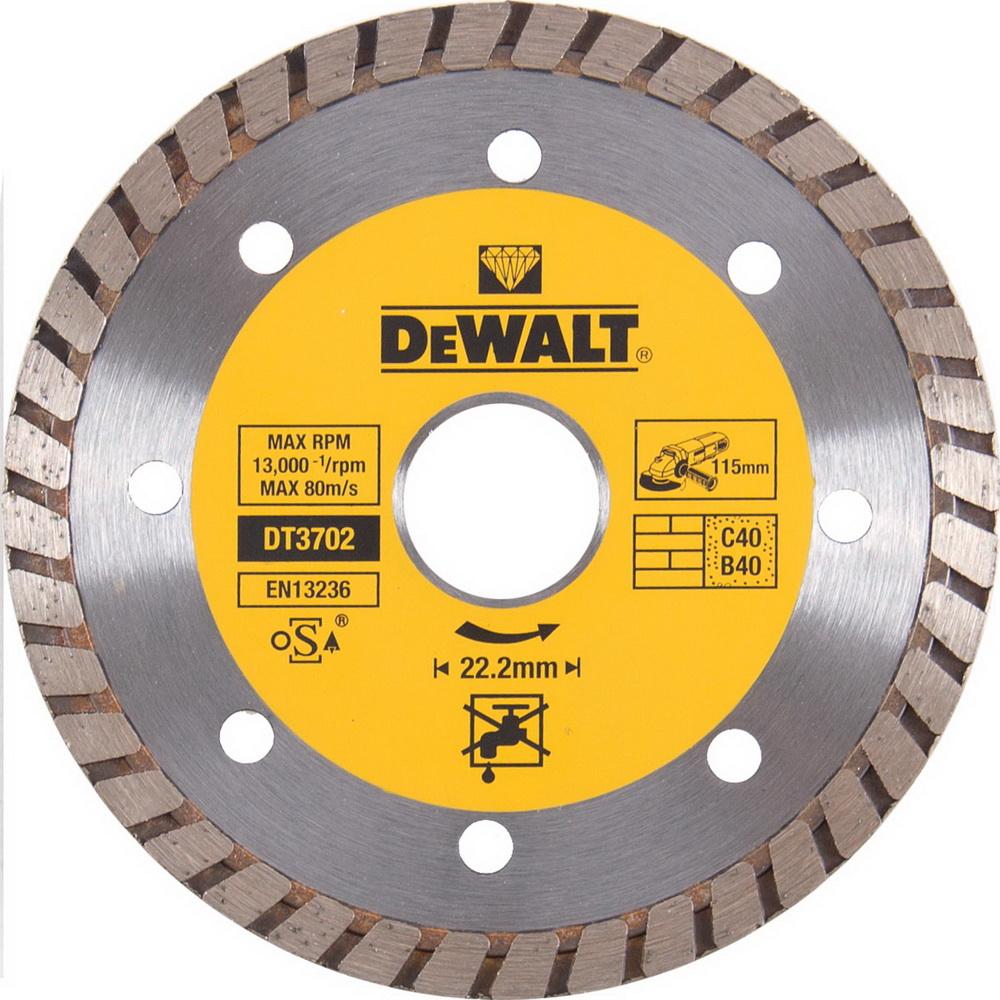 Круг алмазный Dewalt Dt3702qz диск алмазный diam 150х22 2мм master турбо 000160