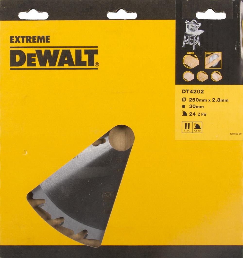 Диск пильный твердосплавный Dewalt Dt4202qz