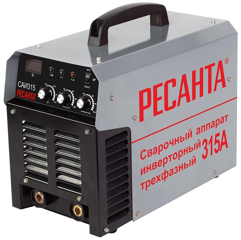 Сварочный инвертор РЕСАНТА САИ-315 сварочный полуавтомат ресанта саипа135