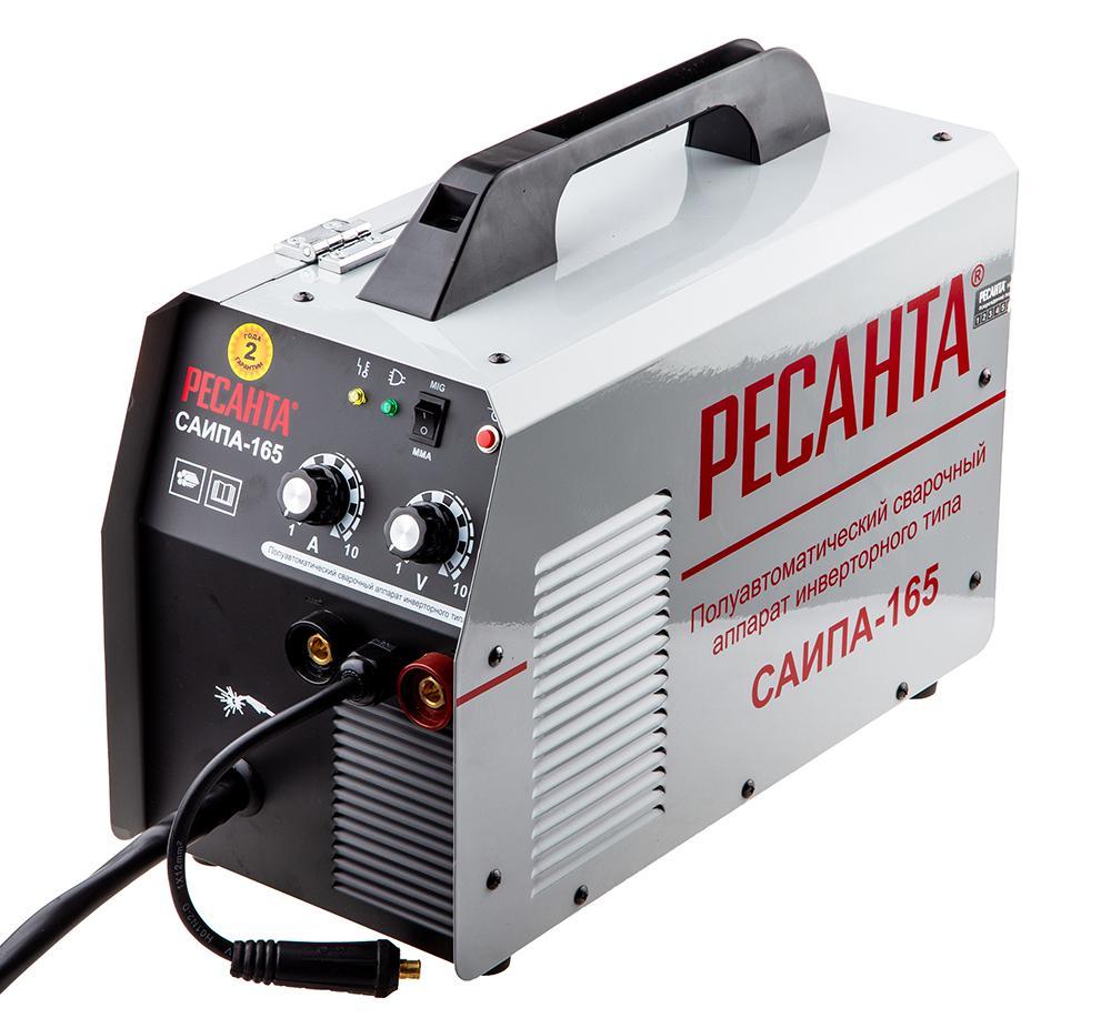 Сварочный полуавтомат РЕСАНТА САИПА-165 сварочный полуавтомат ресанта саипа 135