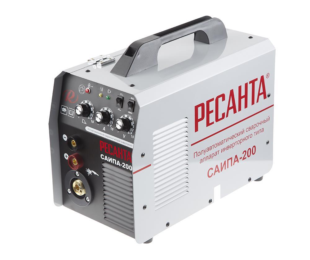 Сварочный полуавтомат РЕСАНТА САИПА-200 сварочный полуавтомат ресанта саипа 135