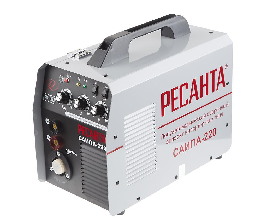 Сварочный полуавтомат РЕСАНТА САИПА-220 инверторный сварочный полуавтомат ресанта саипа 165