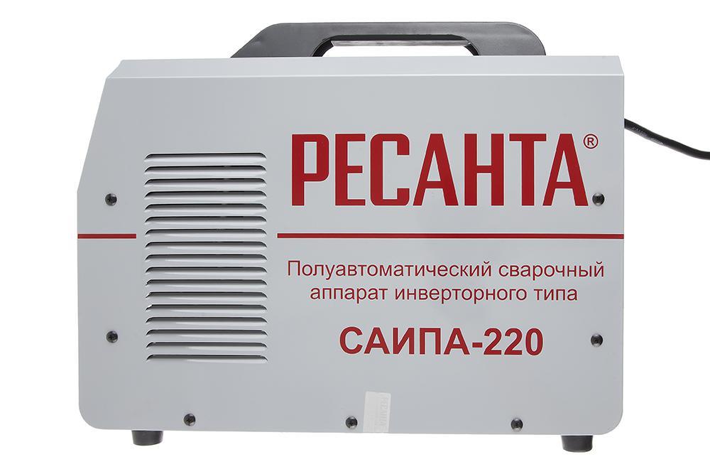 ресанта саипа 220 инструкция по эксплуатации