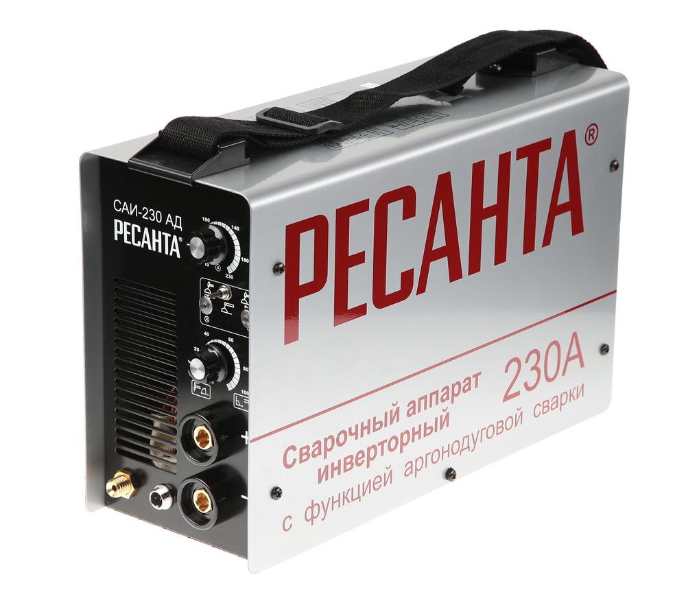 Сварочный инвертор РЕСАНТА САИ-230-АД сварочный полуавтомат ресанта саипа135
