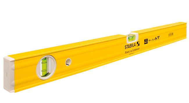 Уровень пузырьковый Stabila 16052 тип 80a  1000мм, 2 глазка