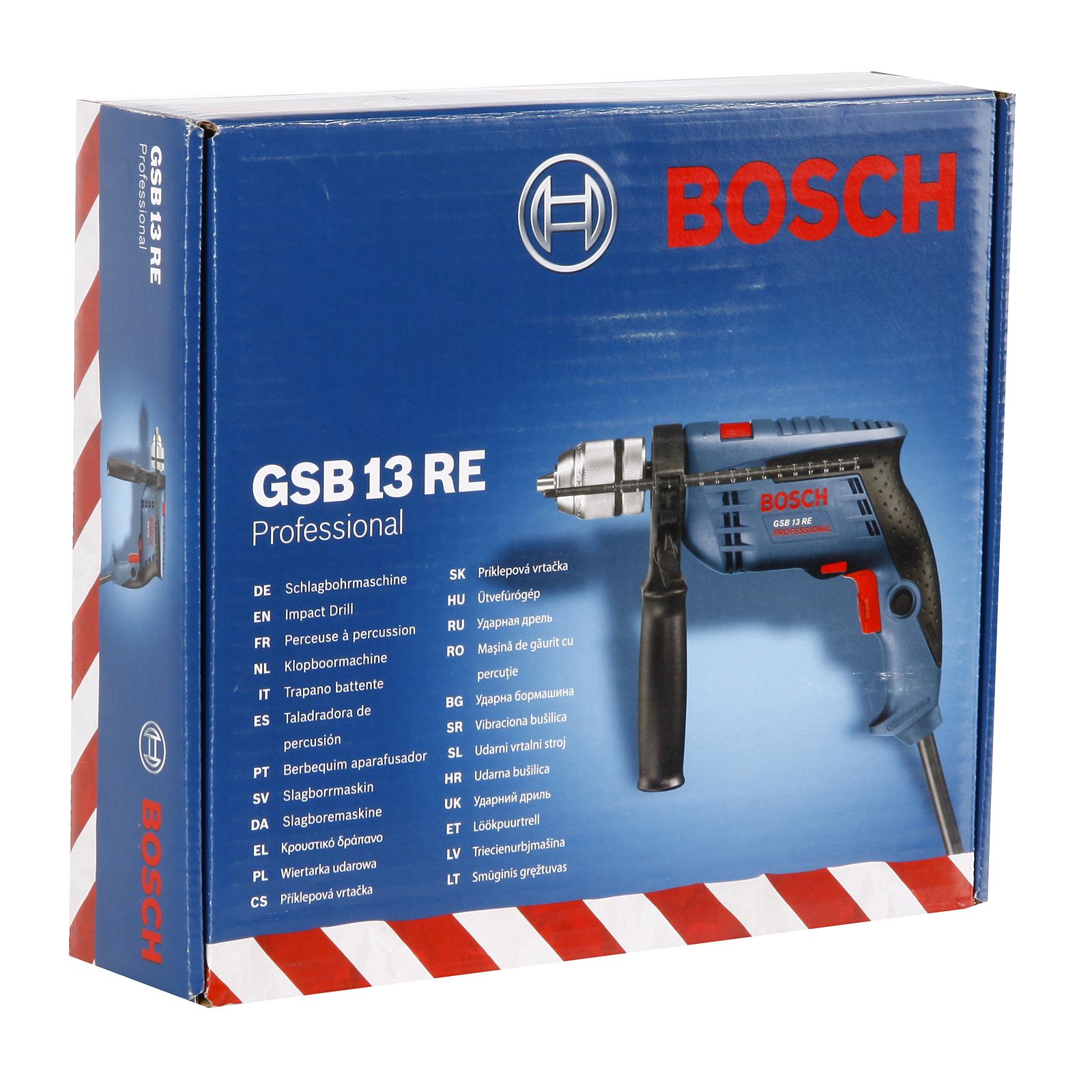 Дрель ударная Bosch Gsb 13 re (0.601.217.100)