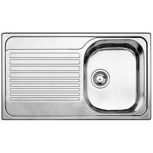 Мойка кухонная из нержавеющей стали Blanco Tipo 45 s compact 513675 цена и фото