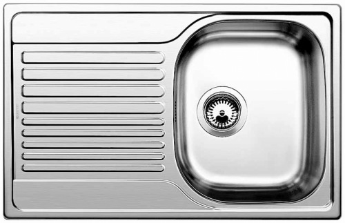 Мойка кухонная из нержавеющей стали Blanco Tipo 45 s compact 513442 смеситель для мойки blanco actis coffee