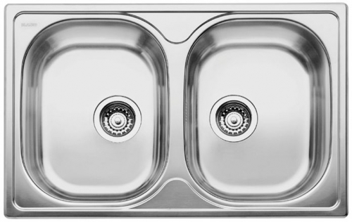 Мойка кухонная Blanco Tipo 8 compact 513459 blanco tipo 8 compact нерж сталь матовая