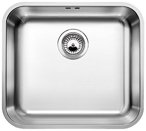 Мойка кухонная из нержавеющей стали Blanco Supra 450-u 518203 смеситель для мойки blanco actis coffee
