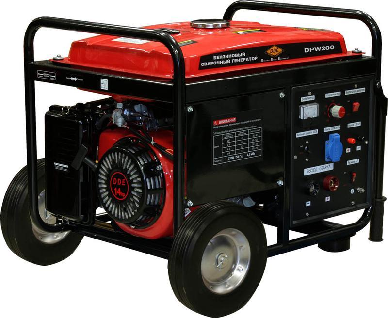Бензиновый сварочный генератор Dde Dpw200 генератор бензиновый сварочный redverg rd190ebw