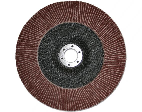 Круг Лепестковый Торцевой (КЛТ) ПРАКТИКА 775-662 115х22мм, Р40 круг отрезной hammer flex 115 x 1 0 x 22 по металлу и нержавеющей стали 25шт