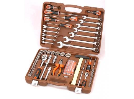 Набор инструментов OMBRA OMT93S в чемодане,93 предмета