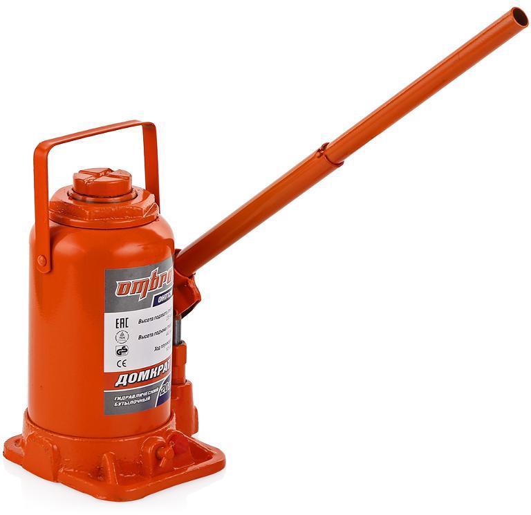 Бутылочный гидравлический домкрат Ombra Oht120 домкрат гидравлический бутылочный sparta 2т 148 278мм 50321