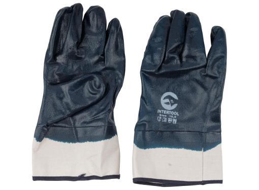 Нитриловые перчатки КЩС FIT 12425