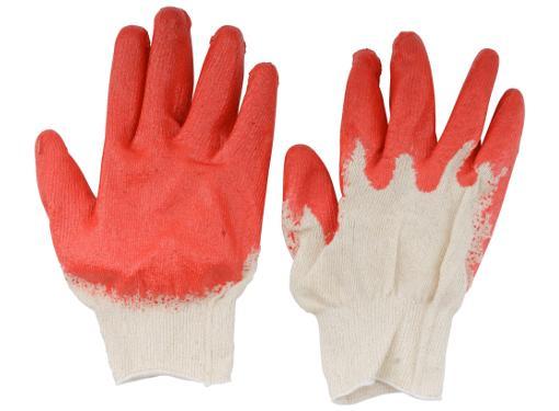 Перчатки ХБ с латексным покрытием ладони FIT 12470