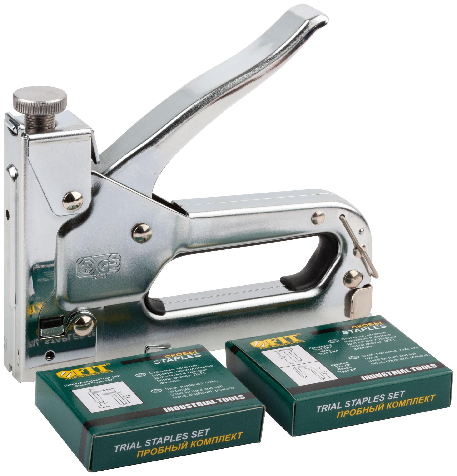 Степлер Fit 32165 степлер для узких скоб fit 32123