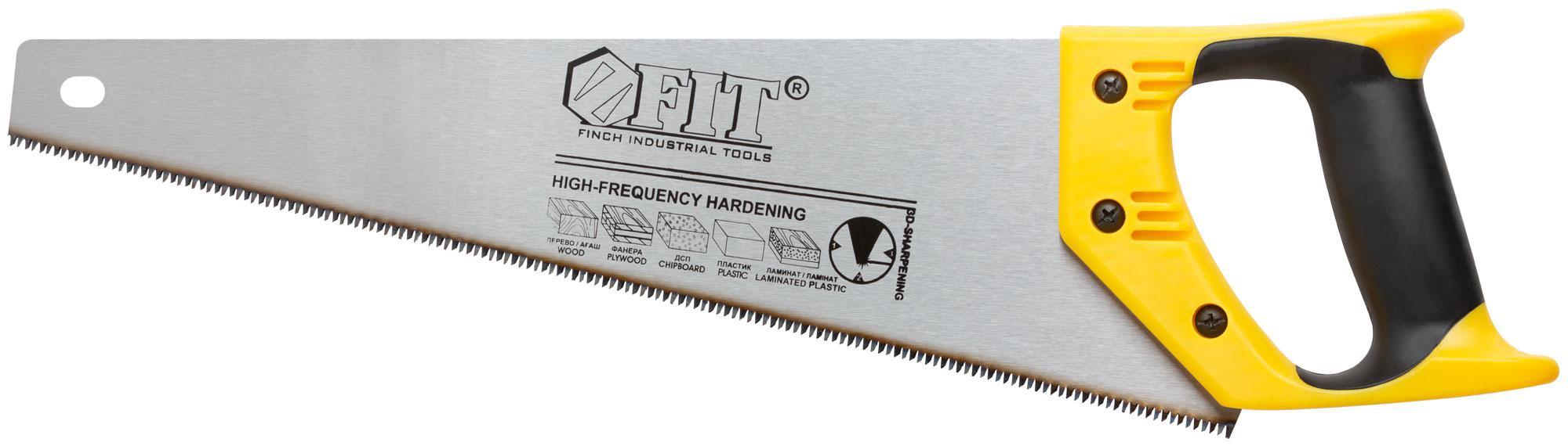 Ножовка по дереву Fit 40474