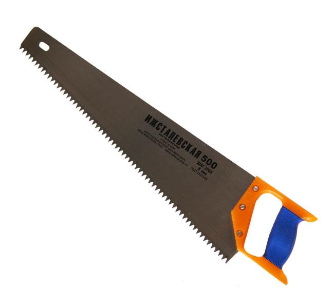 Ножовка по дереву ИЖСТАЛЬ 030107-050 ножовка по дереву 500 мм sparta 232365