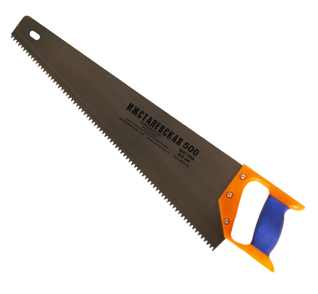 Ножовка по дереву ИЖСТАЛЬ 030108-050 ножовка по дереву 500 мм sparta 232365
