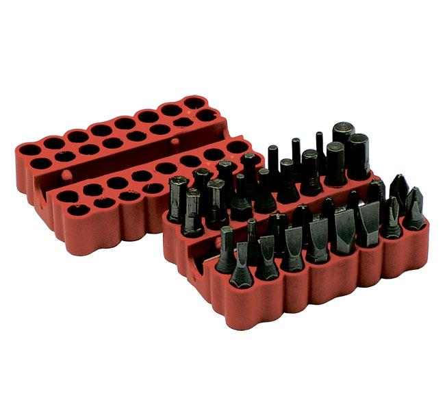 Набор бит Santool 031504-033 набор отверток с двухкомпонентной ручкой santool из 7 предметов и бит 14 шт 031409 010