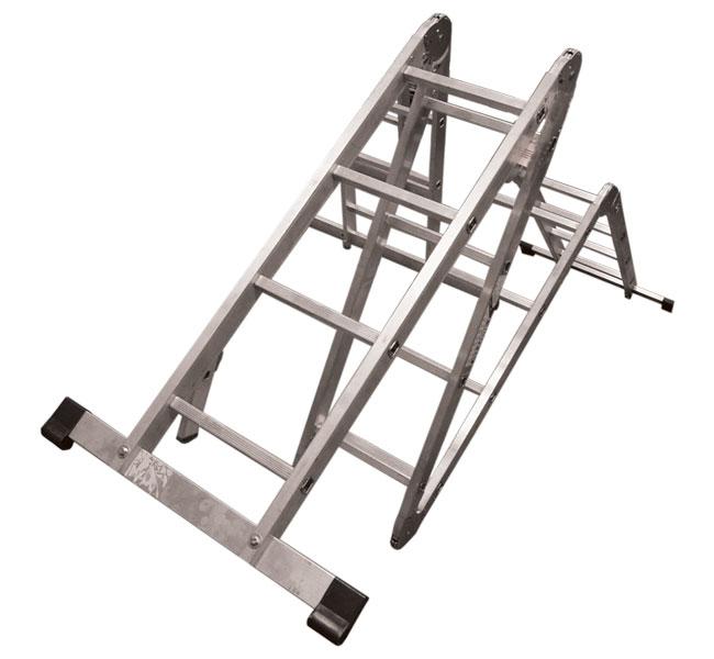 Лестница-трансформер 4х4 АЛЮМЕТ 081102-45-04